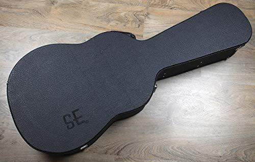 PRS SE Acoustic Case, black on black (Fits A10, A20 & A30)