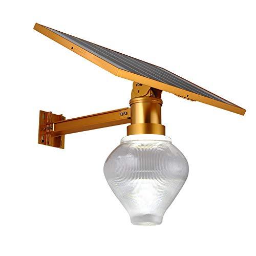 Lumière solaire extérieure New Golden Garden Peach Light Accueil Lumière solaire 50W Pêche 35X50X6CM