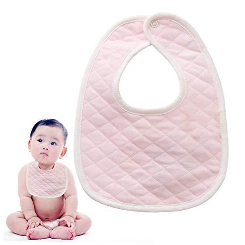 Bébé coton bébé Vaisselle unisexe Bibs bébé Bandana Bave Bibs Vaisselle bébé pour Bave et Teething baby shower cadeau rose
