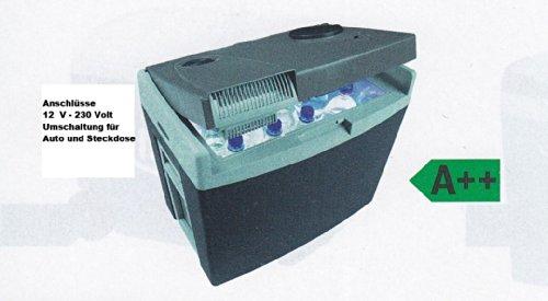 STABIELO - fahrbare auf 2 Rädern - Kühlbox 35 - ENERGIEKLASSE A++ - Thermoelektrik 12 Volt DC / 230 Volt AC - Stehhöhe für 2 Liter Flaschen - Tragegriffe - Holly® Produkte - STABIELO Innovationen Made in Germany - holly-sunshade ®