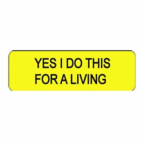 "Larocks ""Yes I Do This For A Living"" Clown Badges"