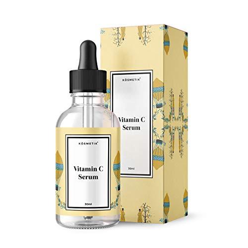 Sérum kösmetik à la vitamine C 30ml, meilleur teint de peau, protection contre les dommages dus à l'environnement.