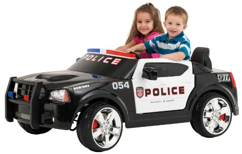 Kid Trax Charger Police Car...