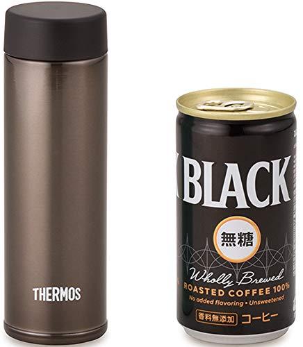 φ45×H145mmの超コンパクトサイズ。ミニサイズの缶コーヒーよりもスリムです。容量150mlで、ランチ後のコーヒーのちょこっと飲みに最適なサイズ感。