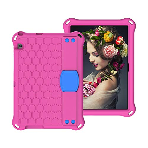 Tablet PC Bolsas Bandolera Para Huawei MediaPad T3 10 (9.6 pulgadas) Tablet Funda de tableta, protección a prueba de golpes a prueba de golpes, protección de cuerpo completo, con correa de hombro de m