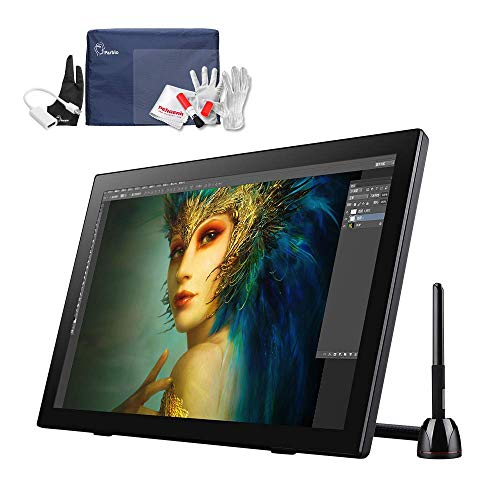 Parblo Coast22 21.5 Inch Graphic Drawing Monitor with Battery-Free Pen, Protector Cover, Screen Protector, Cleaning Kit, Drawing Tablet with Display Screen for Digital Art Works Graphic Design