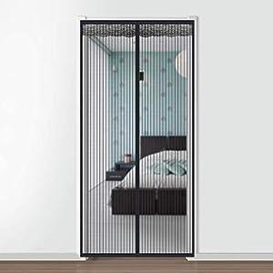 Faburo 210 * 90cm Mosquitera Magnética para Puertas, Mosquitera Puerta Magnetica para Puertas Cortina de Sala de Estar la Puerta del Balcón Puerta