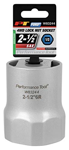 Performance Tool - 1/2 Drive, Lock Nut Socket 2-1/2