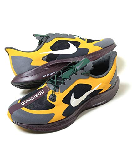 Nike Mens Zoom Pegasus 35 Turbo Gyakusou Running Shoes (10), Gold Dart/Pale Ivory-iron Grey