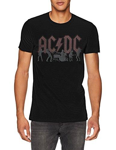 AC/DC Silhouettes T-Shirt voor heren