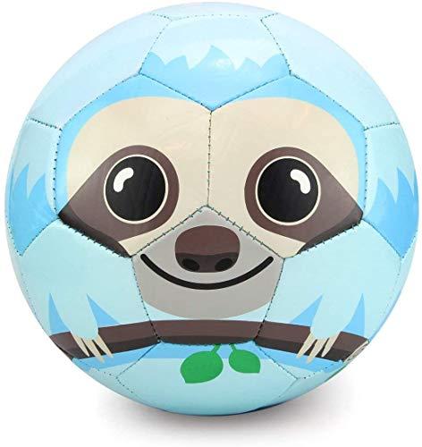 Toyshine Edu-Sports Kids Football Soccer Educational Toy Ball, Size 3, 4-8 Years Kids Toy Gift Sports - Sloth