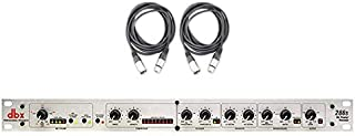 DBX 286S Preamplifier Channel Strip Mic Pre Amp w/ 2x 25' XLR Cables NEW