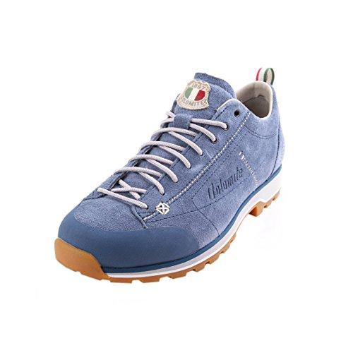 DOLOMITE Zapato Cinquantaquattro Low, Chaussures de Randonnée Basses Mixte Adulte, Oceano/Gris, 39.5 EU