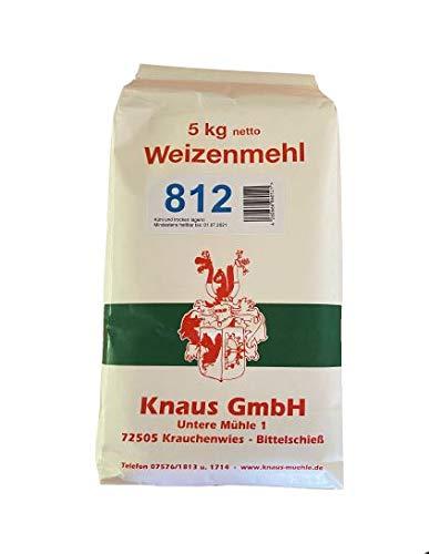 Weizenmehl Type 812 Weizenmehl in Bäckerqualität (5 kg)