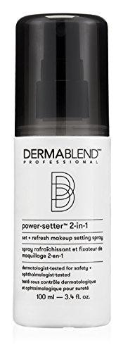 Dermablend Power-Setter 2-in-1 Set + Refresh Makeup Setting Spray for Long Lasting Makeup Wear, 3.4 Fl oz
