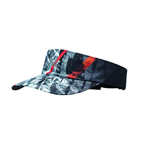 Buff S.A. Buff Erwachsene Patterned Visor, R-City Grey, One Size