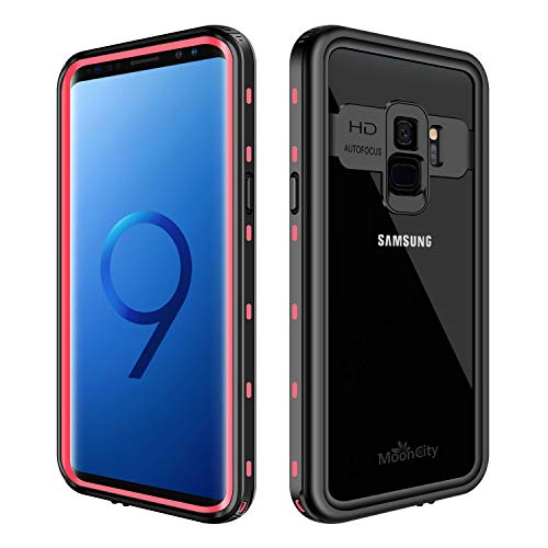 Waterproof Case for Galaxy S9, IP68 Waterproof Snowproof Shockproof and Dustproof Cover Case, Underwater Full Sealed Cover Case for Samsung Galaxy S9, 5.8 inch