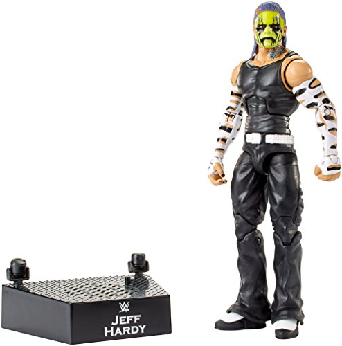 WWE MATTEL FML10 WWE Entrance Greats Jeff Hardy Action Figure, Colours/Styles May Vary