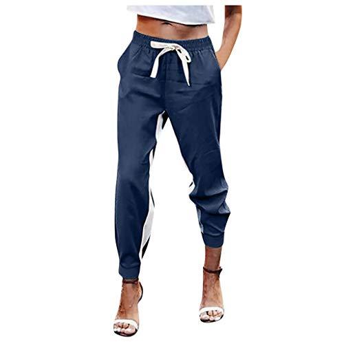 Damen Mädchen Jogginghose Trainingshose Schlafanzug-Hose Stern Fitness Joggen Sweatpants Street-Style-Damenhose Im Sportlichen Stil