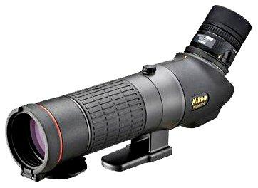 Nikon EDG Fieldscope 65-A - Telescopio (2m, Negro, 1.62 kg, 8.8 cm, 33.2 cm)