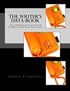 The Writer's Data-Book (Black): The One Book You'll Need to Write All Your Info Into!