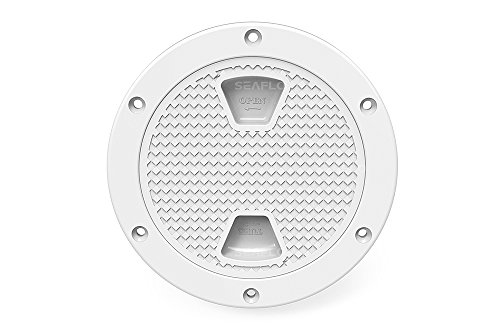 SEAFLO 8' Boat Round Deck Inspection Access Hatch with Detachable Cover 250mm
