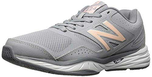 New Balance Women's 824 V1 Cross Trainer, Flint Gray, 7 2E US