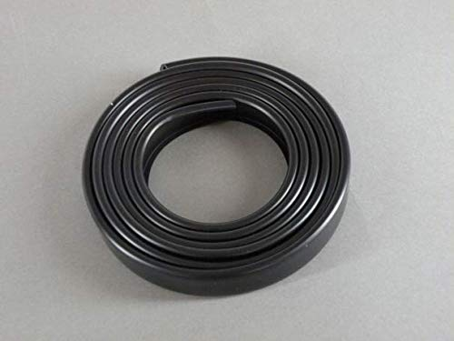 Nordlinger Pro 670001 - Cubrecanto, plástico, Negro, 16 mm x 2 ml