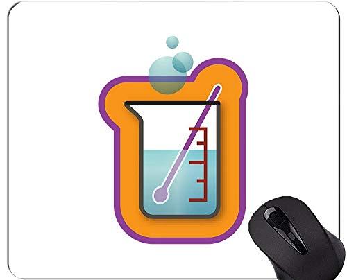 Wissenschafts-Chemie-Geometrie-Mathe-Mausunterlage personalisiert, Clipart Gummimausunterlage