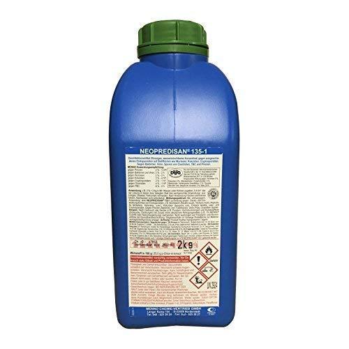 Menno Neopredisan 135-1, Desinfektionsmittel gegen ausgeschiedene Endoparasiten - 2 kg