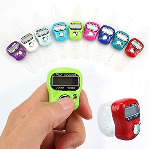 Mingtongli Color al Azar Contador Digital Display LCD de la muñeca El...