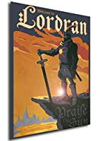 Wall Art Poster Print Dark Souls Vintage (B) Solaire - Formato A3 (42x30 cm) 11x17 Inches