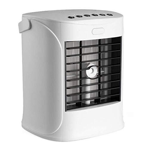 HaoLi Bluetooth-Lautsprecher Kühler Spray Desinfektion Klimaanlage Lüfter Mini Desktop Luftbefeuchter mit kleinem Lüfter