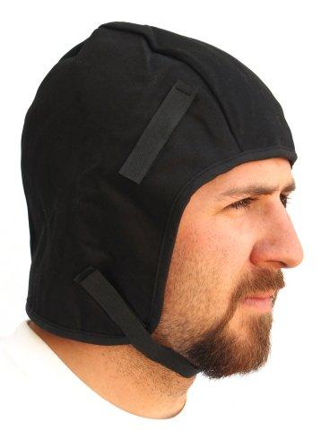 Forney 55835 Winter Liner for Hardhat or Helmet, Long, Dark Blue