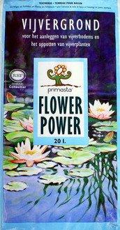 WFW wasserflora 20 Liter Teicherde/Seerosen-Erde/Teichpflanzensubstrat für den Gartenteich