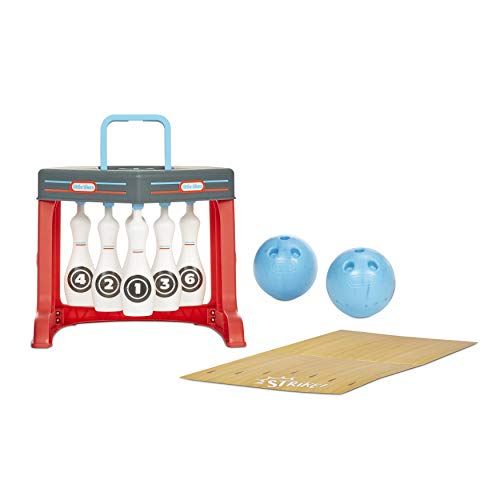 Little Tikes My First Bowling 6 Pin Set with Easy Reset for Kids Ages 2-5 Years Old