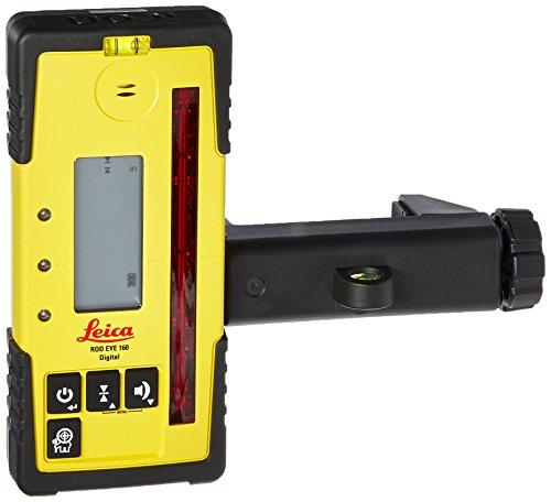 Leica RE 160 Digital Rugby Rod Eye 160 Digital Rotary Laser Receiver,...