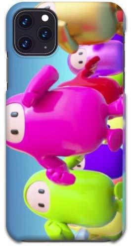 Turbo Delivery LLC -Fall Guys Video Gaming Hard Rubber Case Compatible with Samsung Galaxy S10,