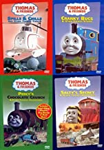 Thomas and Friends (4 Pack) Percy's Chocolate Crunch / Spills and Chills / Salty's Secret /  Cranky Bugs