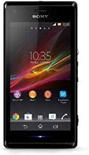 Sony Xperia M C2004 GSM Unlocked Android Smartphone, Black