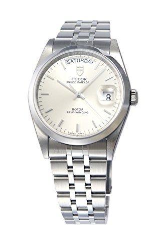 [Tudor] Tudor reloj Prince deitodei plata Dial Automático 76200si Hombres del paralelo mercancías de importación]