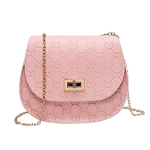 Victoe Fashion Handtassen Dames Handtassen Pu Messenger Bag Dames Handtas Ketting Plaid Band Mobiele Telefoon Tas Portemonnee