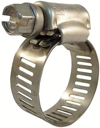 Industro 7/16 in. to 1 in. Stainless Steel Hose Clamps (25-Pack)