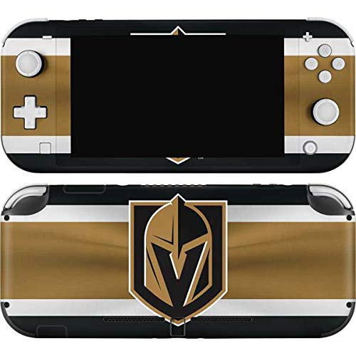 Skinit Decal Gaming Skin Compatible with Nintendo Switch Lite - Officially Licensed NHL Vegas Golden Knights Jersey Design