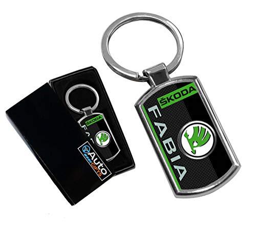Cargifts Schlüsselanhänger mit Logo für Skoda Fabia