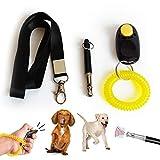 TVMALL Ensemble cadeau de dressage professionnel à ultrasons pour chien, chat, cheval, oiseau, noir
