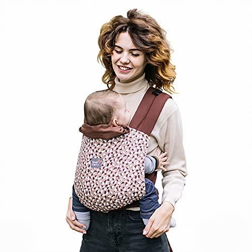 Love & Carry® Mei Tai Porta Bebè Marsupio Ergonomico Neonato a Fascia (Safari)