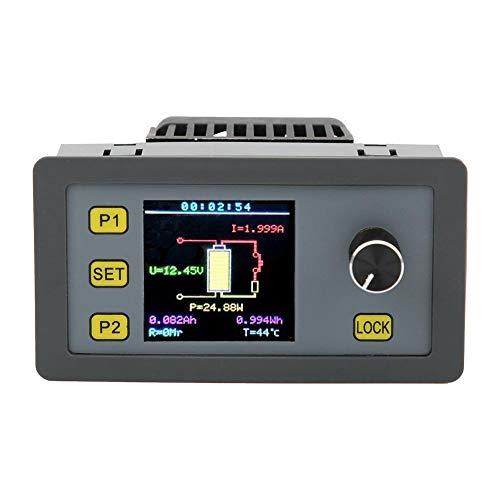 Elektronisches Lastmodul WEL3005 30W 5A, Walfront-Batteriewiderstandstester Lastdetektormodul Einstellbarer konstanter Strom Multifunktionaler Farbbildschirm