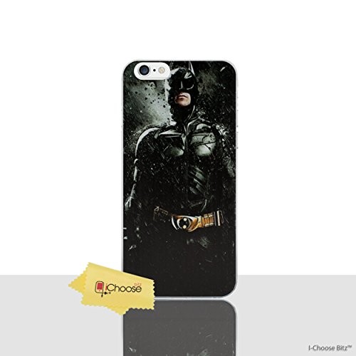 iPhone 5/5s Cómic Carcasa de Telefono / Cubierta para Apple iPhone 5s 5 SE / Protector de Pantalla y Paño / iCHOOSE / Batman - The Dark Knight Rises