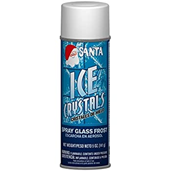Santa Winter White Christmas Ice Crystals Spray - 5 Ounces